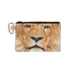 Africa African Animal Cat Close Up Canvas Cosmetic Bag (small)