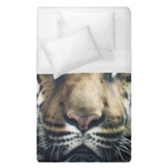 Tiger Bengal Stripes Eyes Close Duvet Cover (single Size) by BangZart