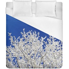 Crown Aesthetic Branches Hoarfrost Duvet Cover (california King Size)