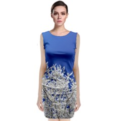 Crown Aesthetic Branches Hoarfrost Classic Sleeveless Midi Dress
