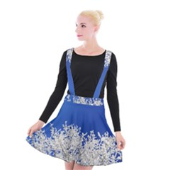 Crown Aesthetic Branches Hoarfrost Suspender Skater Skirt