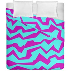 Polynoise Shock New Wave Duvet Cover Double Side (california King Size) by jumpercat