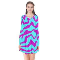 Polynoise Shock New Wave Flare Dress