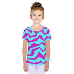 Polynoise Shock New Wave Kids  One Piece Tee
