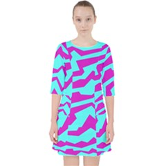 Polynoise Shock New Wave Pocket Dress