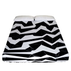 Polynoise Origami Fitted Sheet (california King Size) by jumpercat