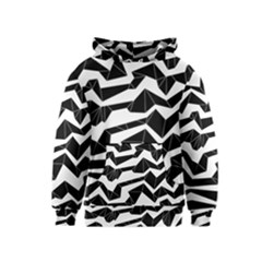 Polynoise Origami Kids  Pullover Hoodie