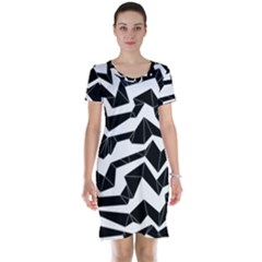 Polynoise Origami Short Sleeve Nightdress