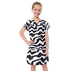 Polynoise Origami Kids  Drop Waist Dress