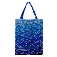 Polynoise Deep Layer Classic Tote Bag by jumpercat