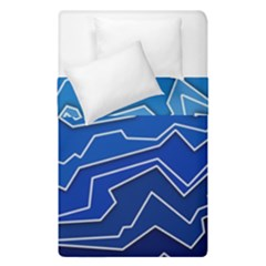 Polynoise Deep Layer Duvet Cover Double Side (single Size) by jumpercat