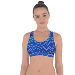 Polynoise Deep Layer Cross String Back Sports Bra