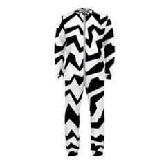 Polynoise Bw Onepiece Jumpsuit (kids) by jumpercat