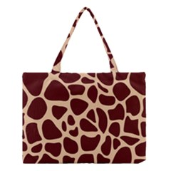 Animal Print Girraf Patterns Medium Tote Bag