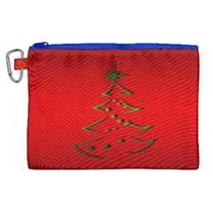 Christmas Canvas Cosmetic Bag (xl)