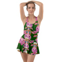 Seamless Tile Repeat Pattern Swimsuit by BangZart