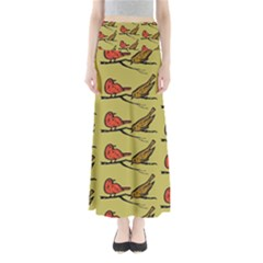 Animal Nature Wild Wildlife Full Length Maxi Skirt