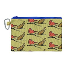 Animal Nature Wild Wildlife Canvas Cosmetic Bag (large)