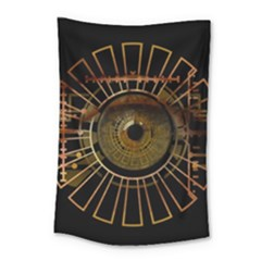 Eye Technology Small Tapestry