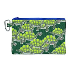 Seamless Tile Background Abstract Canvas Cosmetic Bag (large)