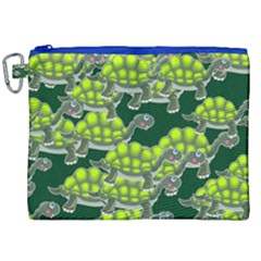 Seamless Tile Background Abstract Canvas Cosmetic Bag (xxl)