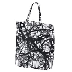Neurons Brain Cells Brain Structure Giant Grocery Zipper Tote by BangZart