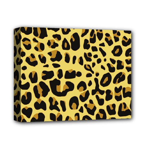 Animal Fur Skin Pattern Form Deluxe Canvas 14  X 11  by BangZart