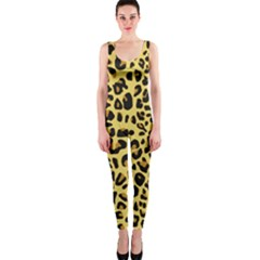 Animal Fur Skin Pattern Form Onepiece Catsuit by BangZart