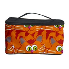 Animals Pet Cats Mammal Cartoon Cosmetic Storage Case by BangZart