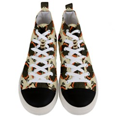 Butterfly Butterflies Insects Men s Mid Top Canvas Sneakers