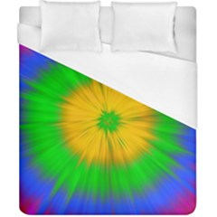 Spot Explosion Star Experiment Duvet Cover (california King Size) by BangZart