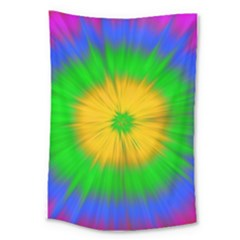 Spot Explosion Star Experiment Large Tapestry by BangZart