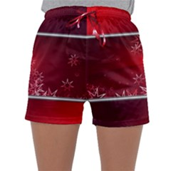 Christmas Candles Christmas Card Sleepwear Shorts