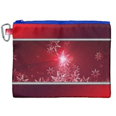 Christmas Candles Christmas Card Canvas Cosmetic Bag (xxl) by BangZart