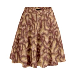 Brain Mass Brain Mass Coils High Waist Skirt