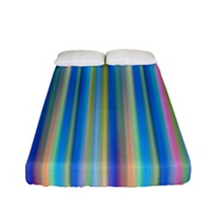 Colorful Color Arrangement Fitted Sheet (full/ Double Size)