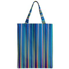 Colorful Color Arrangement Zipper Classic Tote Bag