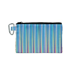 Colorful Color Arrangement Canvas Cosmetic Bag (small)