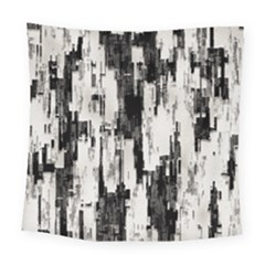 Pattern Structure Background Dirty Square Tapestry (large)