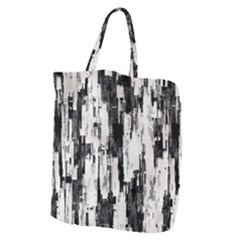 Pattern Structure Background Dirty Giant Grocery Zipper Tote