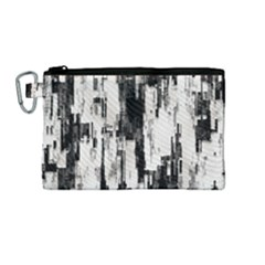 Pattern Structure Background Dirty Canvas Cosmetic Bag (medium)