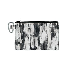 Pattern Structure Background Dirty Canvas Cosmetic Bag (small)