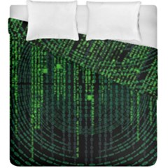 Matrix Communication Software Pc Duvet Cover Double Side (king Size) by BangZart