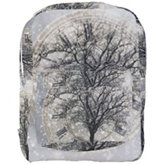 Snow Snowfall New Year S Day Full Print Backpack