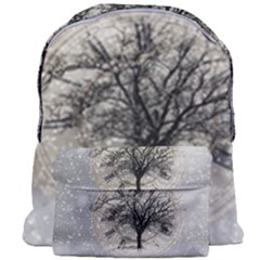 Snow Snowfall New Year S Day Giant Full Print Backpack
