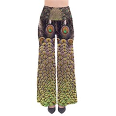 Peacock Feathers Wheel Plumage Pants by BangZart