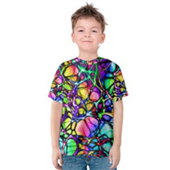 Network Nerves Nervous System Line Kids  Cotton Tee by BangZart