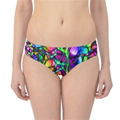 Network Nerves Nervous System Line Hipster Bikini Bottoms