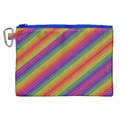 Spectrum Psychedelic Canvas Cosmetic Bag (xl)