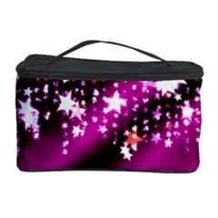 Background Christmas Star Advent Cosmetic Storage Case by BangZart
